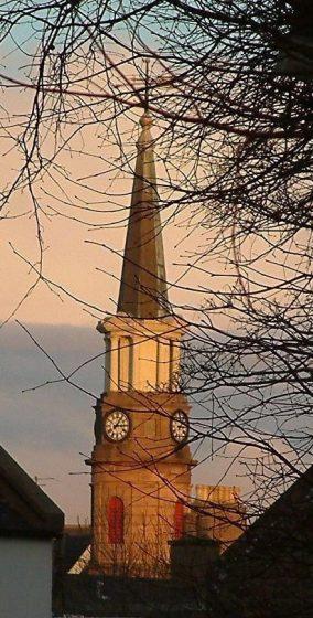 Town Clock spire