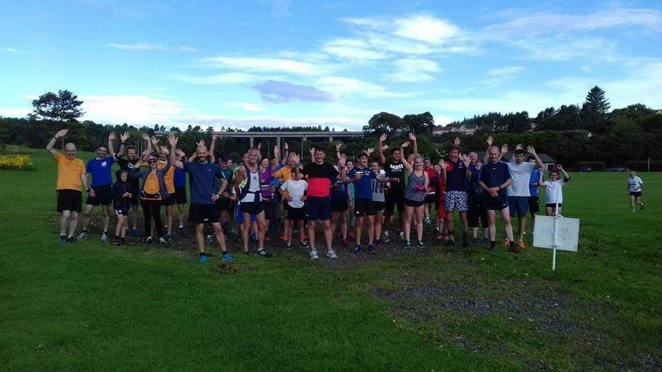 Stonehaven group of runners