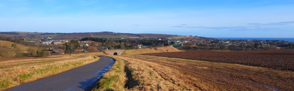 A view of Stonehaven from Toucks area
