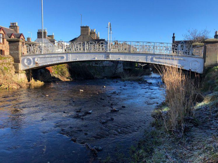 Picture of the White Bridge over the Carron River