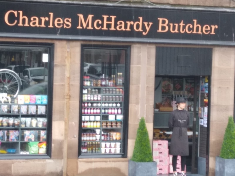 exterior shot of McHardy's
