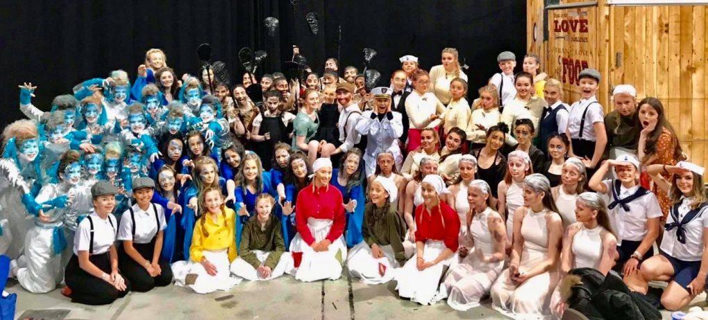 Group of Schoolchildren in costumes