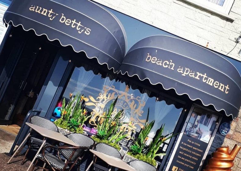 Frontage of Aunty Betty's