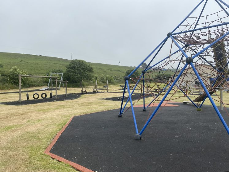 playpark climbing frame