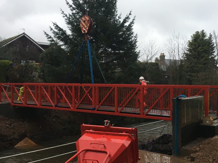 new red bridge - it's red